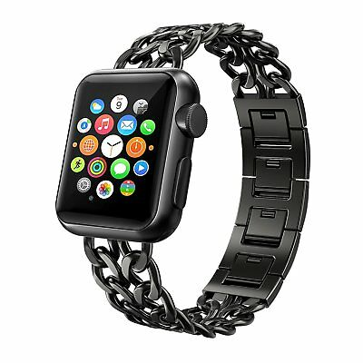 Apple Watch Armband 42mm, Swees Edelstahl Replacement für Series 3 / 2 / 1