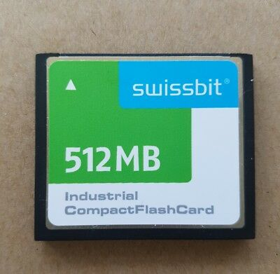 Swissbit 512 MB Industrial Compact Flash Card - Industrie Speicherkarte CF SLC