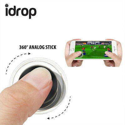 2 x idrop Mini Joystick Touch Screen Mobile Game Controller For smartphone