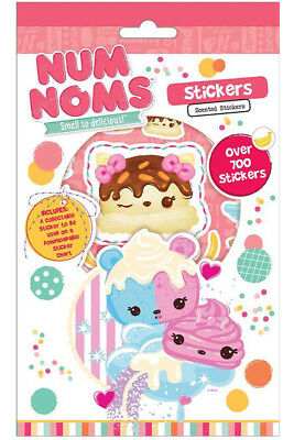 Num Noms Set of 700 Stickers. + Collectable Sticker. Party Bag Stocking Filler