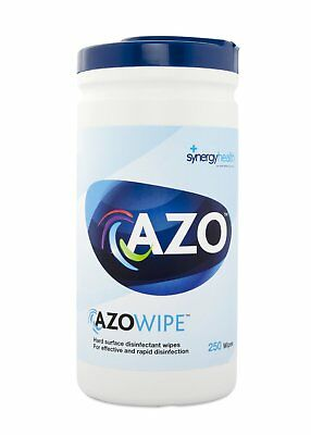 Synergy Azo Wipette Rapid Disinfection Hard Surface Wipes - 20 x 18cm