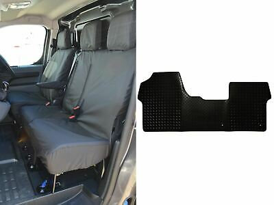 TAILORED FRONT SEAT COVERS INC EMBROIDERY 294 BEM PEUGEOT EXPERT 2016