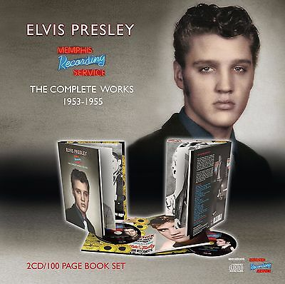 Elvis Presley - MRS: THE COMPLETE WORKS 1953 – 1955 Book + 2x CD's New & Sealed