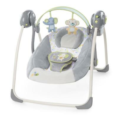 Ingenuity Soothe 'n Delight Portable Swing - Buzzy Bloom