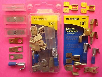 Primary Ground Wire Connectors Terminals Piggyback Quick Disconnect Tab Adapters