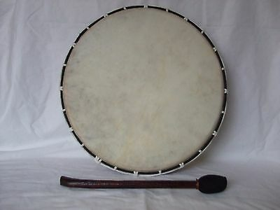 Shamanic Drum Native American Tribal  32 cm with Beater Healing Meditation