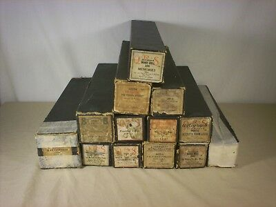 13 Player Piano Rolls Lot  QRS, Jazz Rag, Imperial +++