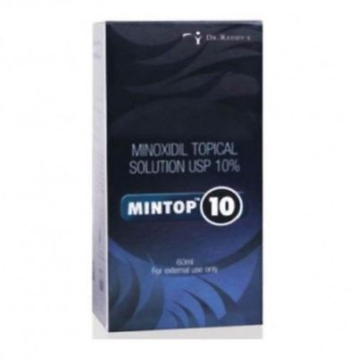 Dr. Reddy's Minox Topical Solution USP 10% Mintop 10 Free Shipping World Wide.
