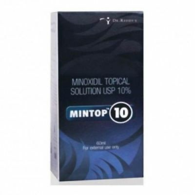 5 x Minoxidil Topical Solution USP 10% Mintop 10 Free Shipping World Wide