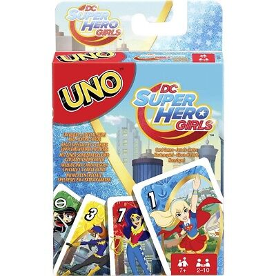 Uno DC Super Hero Girls - MATTEL - NEUF