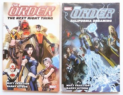 The Order Vol. 1 & 2 NEW Marvel Graphic Novel Comic Book