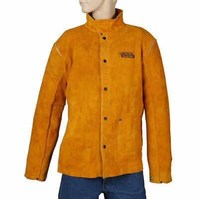Lincoln Electric Brown XX-Large Flame-Resistant Heavy Duty Leather Welding
