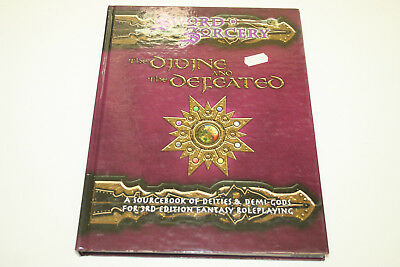 ROLLENSPIEL D20 D&D SWORD & SORCERY: THE DIVINE AND THE DEFEATED Quellenbuch Ro1
