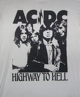 """Ac/dc!  """"highway To Hell""""  T-Shirt!   Adult S"""