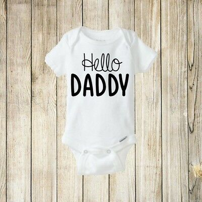 Hello Daddy, Nana, Auntie, Papa, Uncle and more, Pregnancy Announcement Onesie