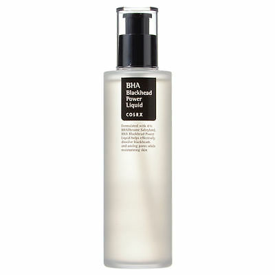 COSRX BHA Blackhead Power Liquid 100ml + Free Nose Strip *UK Seller*