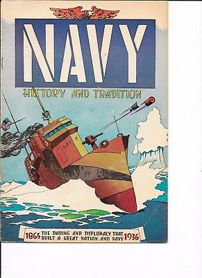 Navy History and Tradition  1865 - 1936