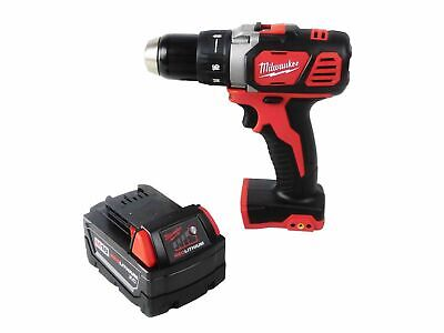 """Milwaukee M18 2606-20 1/2"""" Drill Driverwith 48-11-1828 3 Ah Battery Pack"""