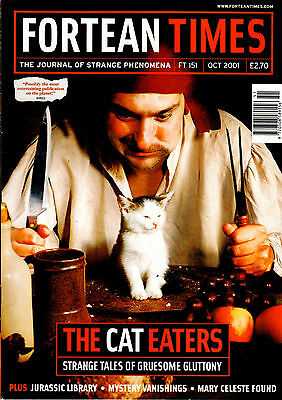 Fortean Times Magazine Issue 151 October 2001