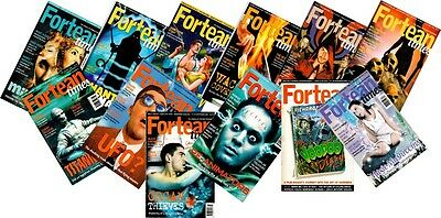 Fortean Times Magazines Year 2000 - 12 Issues