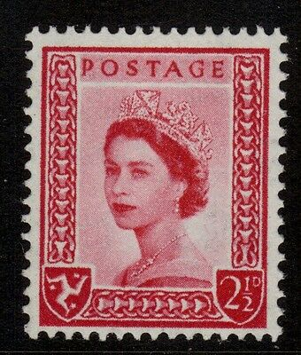 ISLE OF MAN SG1 2½d carmine-red Unmounted Mint .