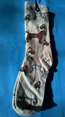 Border Terrier Socks by Golden Horn Creations - Women's Medium - New