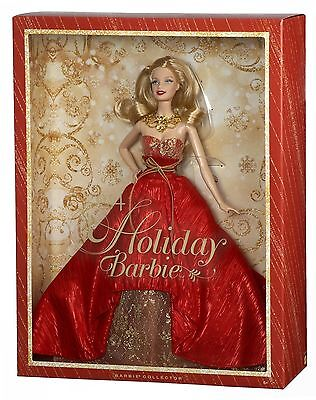 Mattel BDH13 Barbie Collector Holiday Doll 2014 Sammlerpuppe ,NEU,OVP
