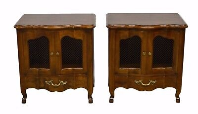 John Widdicomb French Style Pair Nightstands End Tables
