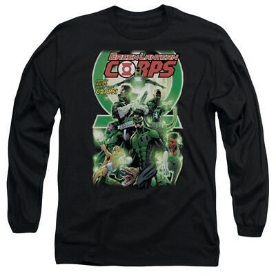 Green Lantern GL CORPS #25 COVER Licensed Adult Long Sleeve T-Shirt S-3XL