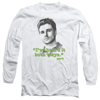 Psych TV Show Burton Gus Guster Shawn Spencer Squared Tee Shirt Adult S-3XL