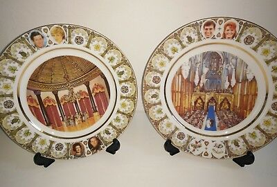 Royal Birth William L/Ed Heritage Collection Westminster Plates Andrew Sarah Wed