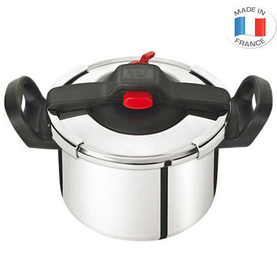 Tefal Clipso Essential 9L Pressure Cooker Stainless Steel Induction Safe Cook