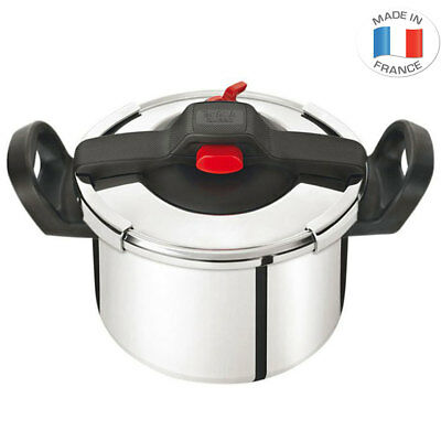 Tefal Clipso Essential 6L Pressure Cooker Stainless Steel Induction Safe Cook