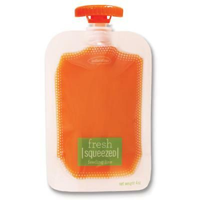 Infantino Fresh Squeezed 50 Pack Squeeze Pouches