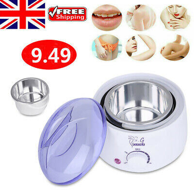 Wax Bean Warmer Handle Pot Waxing Heater Hair Removal Deliatory Salon Paraffin