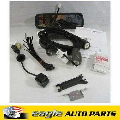 Mitsubishi Zh Outlander Reversing Camera & Rear Vision Mirror Kit Genuine