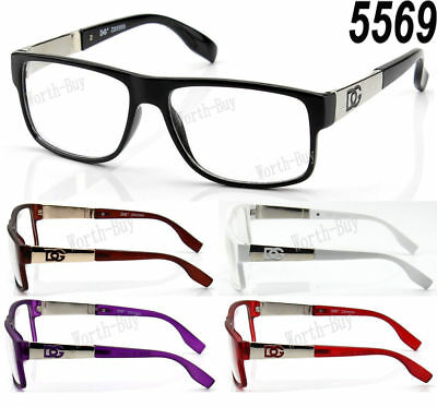 New DG Clear Lens Square Fashion Frame Glasses Mens Womens Designer Optical RX
