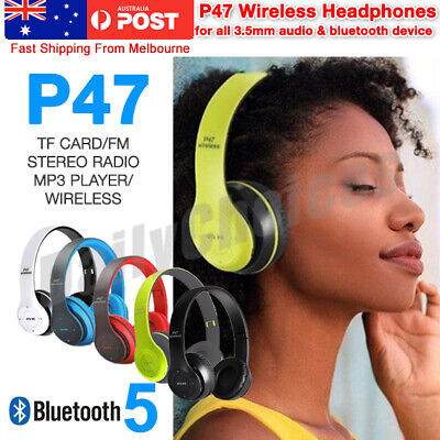 Noise Cancelling Wireless Headphones Bluetooth 4.2 earphone headset with Mic Hot