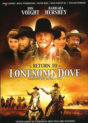 Return to Lonesome Dove NEW PAL Cult 2-DVD Set