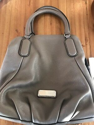 MARC by MARC JACOBS NEW Q FRAN SATCHEL NWT GRAY PURSE