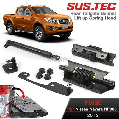 SUSTEC Nissan Navara NP300 2015-ON Easy Down Rear Trunk Gas Strut Tailgate Kit