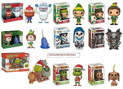 Funko Holiday POP Dorbz Vynl New in Box - choice