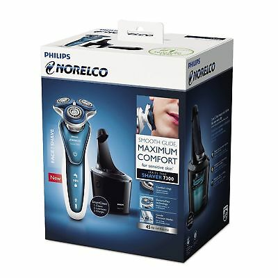 Philips Norelco 7300 Cordless Shaver Series 7000 Sensitive Skin S7370/84 NEW