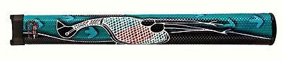 "Indigegrip - ""EMU""authentic indigenous Aboriginal art on a Golf Putting Grip"