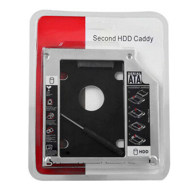 Universal SATA 2nd For Laptop HDD Frame Hard Drive Bays Caddy for CD/DVD-ROM