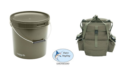 Trakker Carp Fishing NEW 10L Round Bucket & NXG Bait Bucket Bag Deal