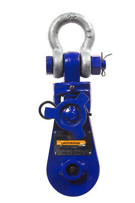 12000kgs Heavy Duty Shackle Head Snatch Block