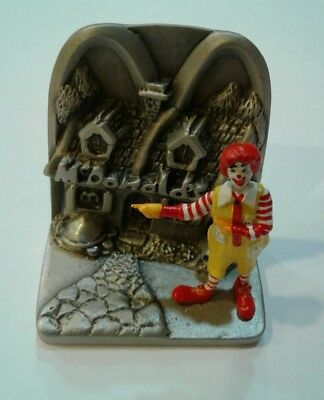 Ronald McDonald hand painted pewter collectable figurine