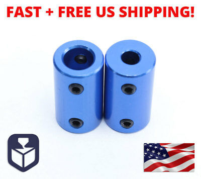 2pcs 5mm to 8mm Aluminum Shaft Coupling Rigid Coupler Motor Connector
