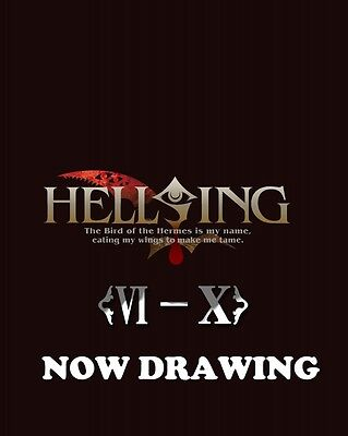 New HELLSING OVA VI to X Blu-ray BOX Soundtrack CD Booklet Japan Anime GNXA-1104